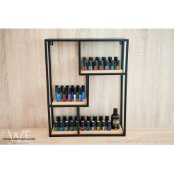Essential Oil Bottle Wall Rack