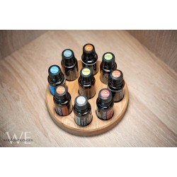 Round essential oil stand